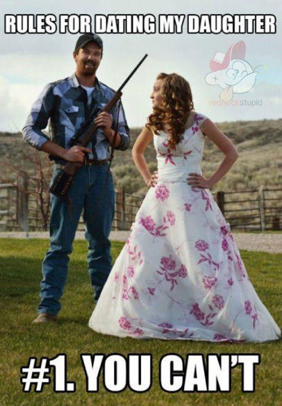 When Dating a Redneck...